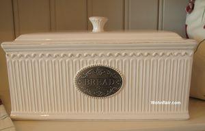 brotkasten brottopf keramik brotbox vorratsdose neu bread shabby chic retro. Black Bedroom Furniture Sets. Home Design Ideas